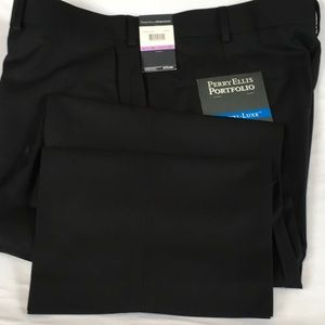 NWT Perry Ellis Dress Pants Travel Luxe Easy Care